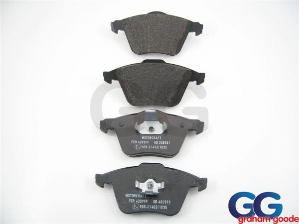 Front Brake Pads Focus ST225 XR5 Genuine Ford GGF552